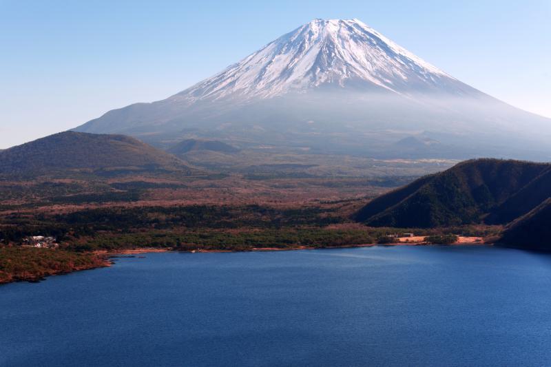パノラマ台からの富士山 | 本栖湖のパノラマ台から撮影した富士山