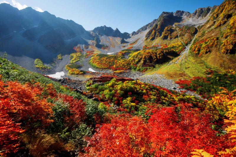 涸沢紅葉 | 彩り豊かなカール