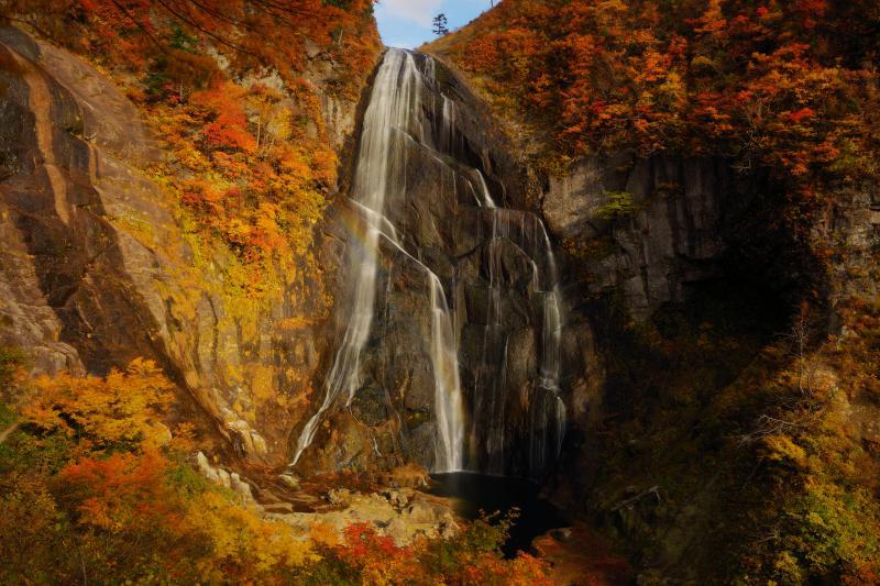 安の滝 上段|