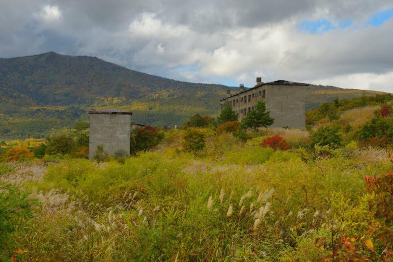 松尾鉱山跡 