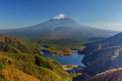 精進峠 富士山眺望|
