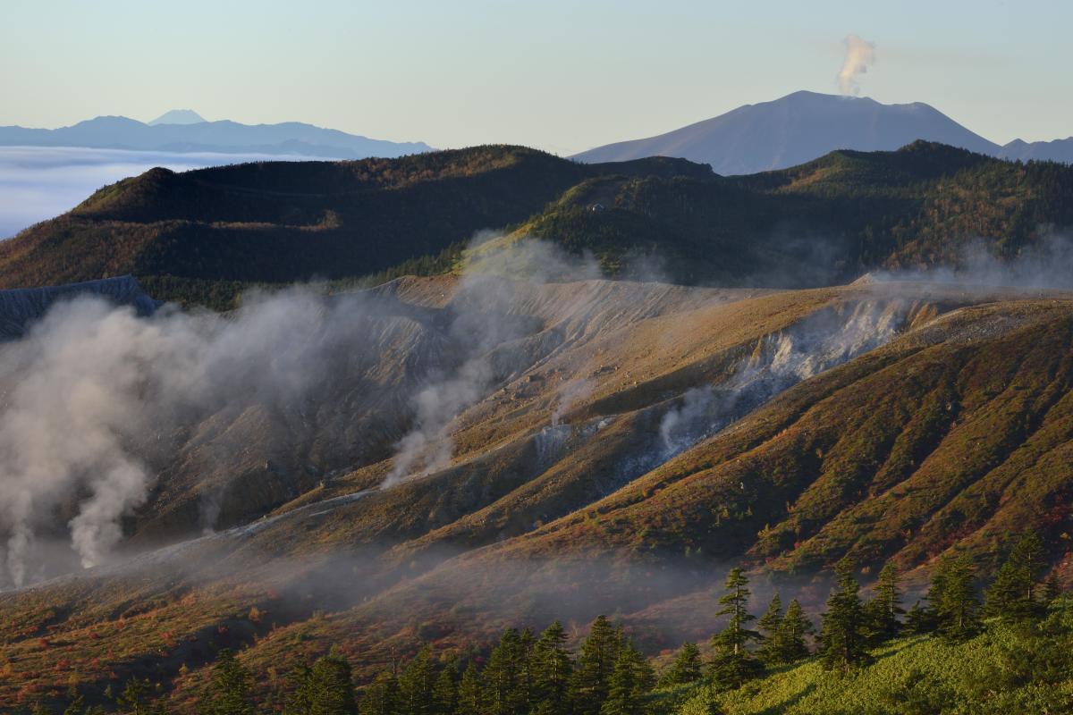 草津白根山 - Mount Kusatsu-Shirane - JapaneseClass.jp