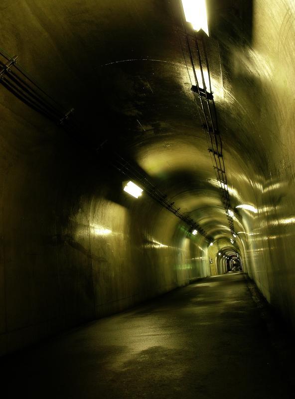 [  ]  1996年に全長750mの「清津峡渓谷トンネル」が完成し、3つの見晴所とパノラマステーションからの眺めを楽しめるようになりました。