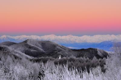 峰の原高原 朝景|