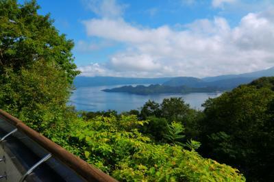 十和田湖 発荷峠展望台|