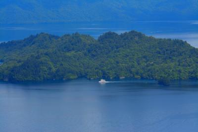 十和田湖 甲岳台展望台|