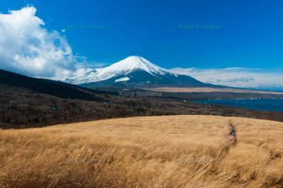 三国峠 富士山|