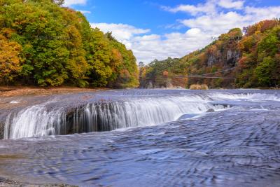 吹割の滝 