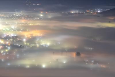 美の山 雲海|