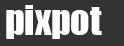 撮影スポットガイド「pixpot」のロゴ
